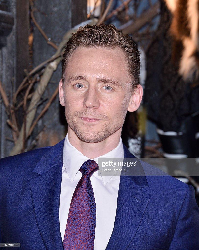 Tom Hiddleston attends the Bergdorf Goodman 'Crimson Peak' inspired window unveiling at Bergdorf Goodman on October 13, 2015 in New York City.
