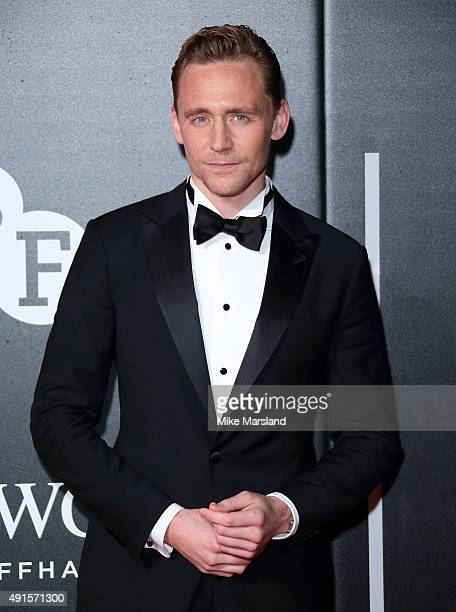 Tom Hiddleston attends the BFI Luminous Funraising Gala at The Guildhall on October 6 2015 in London England