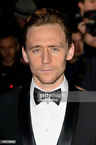 Tom Hiddleston attends the Evening Standard Theatre Awards at The Savoy Hotel on November 17 2013 in London England