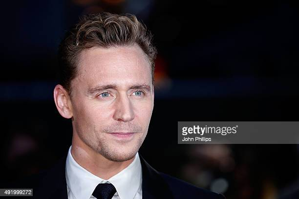 Tom Hiddleston attends the HighRise Screening during the BFI London Film Festival at Odeon Leicester Square on October 9 2015 in London England