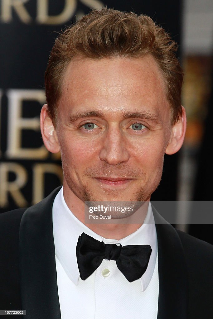 Tom Hiddleston attends The Laurence Olivier Awards at The Royal Opera House on April 28, 2013 in London, England.
