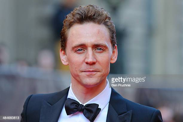 Tom Hiddleston attends the Laurence Olivier Awards at The Royal Opera House on April 13 2014 in London England