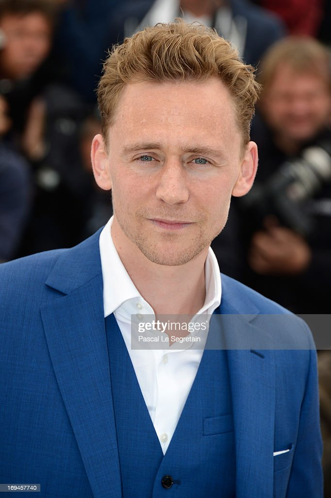 Tom Hiddleston attends the 'Only Lovers Left Alive' photocall during The 66th Annual Cannes Film Festival at Palais des Festival on May 25, 2013 in Cannes, France.