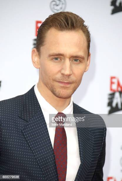 Tom Hiddleston attends the THREE Empire awards at The Roundhouse on March 19 2017 in London England