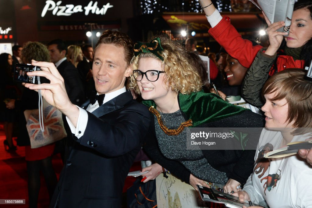 <a gi-track='captionPersonalityLinkClicked' href=/galleries/search?phrase=Tom+Hiddleston&family=editorial&specificpeople=4686407 ng-click='$event.stopPropagation()'>Tom Hiddleston</a> attends the world premiere of 'Thor: The Dark World' at The Odeon Leicester Square on October 22, 2013 in London, England.