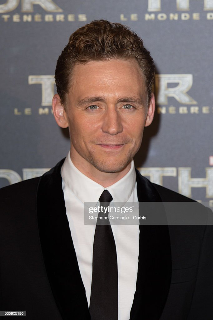 Tom Hiddleston attends 'Thor: The Dark World' Premiere at Le Grand Rex Cinema, in Paris.