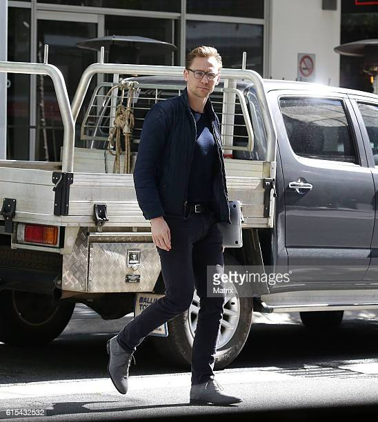 Tom Hiddleston is seen out and about on October 16 2016 in Gold Coast Australia