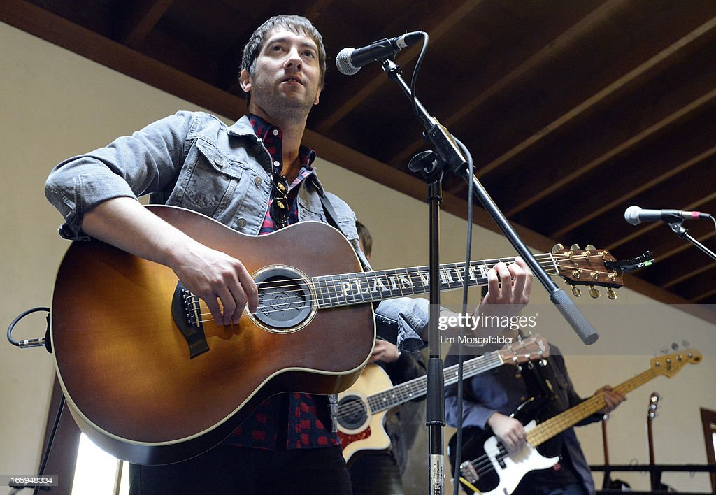Tom Higgenson of the Plain White T's performs at Far Niente Winery as part of Live In The Vineyard on April 6, 2013 in Napa, California.