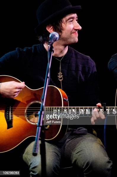 Tom Higgenson of the Plain White T's performs at the WISX Xfinity Performance Theater on February 19 2011 in Bala Cynwyd Pennsylvania