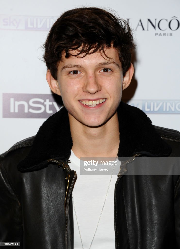 Tom Holland attends InStyle magazine's The Best of British Talent pre-BAFTA party at Dartmouth House on February 4, 2014 in London, England.