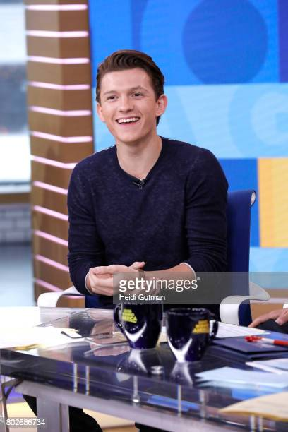 AMERICA Tom Holland is a guest on 'Good Morning America' Tuesday June 27 airing on the ABC Television Network TOM