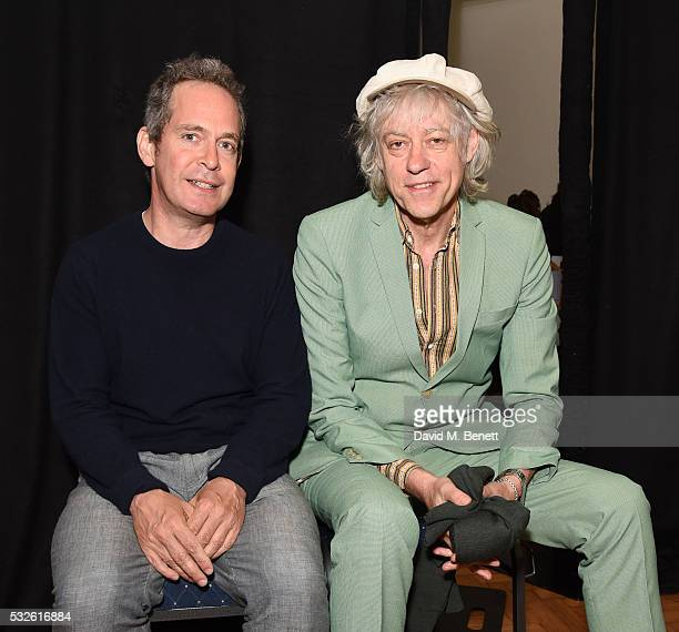 Tom Hollander and Sir Bob Geldof attend a lunch in support of 'ASAP African Solutions To African Problems' at The Royal Horticultural Halls on May 19...