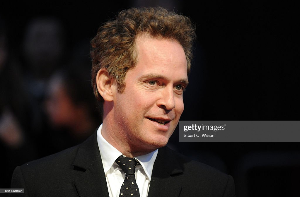 <a gi-track='captionPersonalityLinkClicked' href=/galleries/search?phrase=Tom+Hollander&family=editorial&specificpeople=221668 ng-click='$event.stopPropagation()'>Tom Hollander</a> attends the Festival Gala European Premiere of 'The Invisible Woman' during the 57th BFI London Film Festival at Odeon West End on October 17, 2013 in London, England.