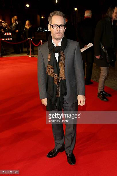 Tom Hollander attends the 'The Night Manager' premiere during the 66th Berlinale International Film Festival Berlin at Haus der Berlinale on February...