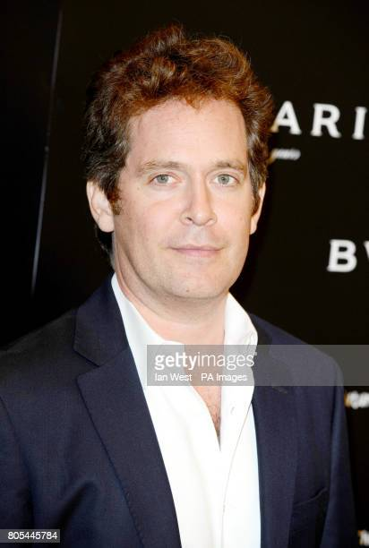 Tom Hollander Jones arriving at the Vogue Bvlgari 125th Anniversary Party drinks reception in aid of Save The Children at the Saatchi Gallery Kings...