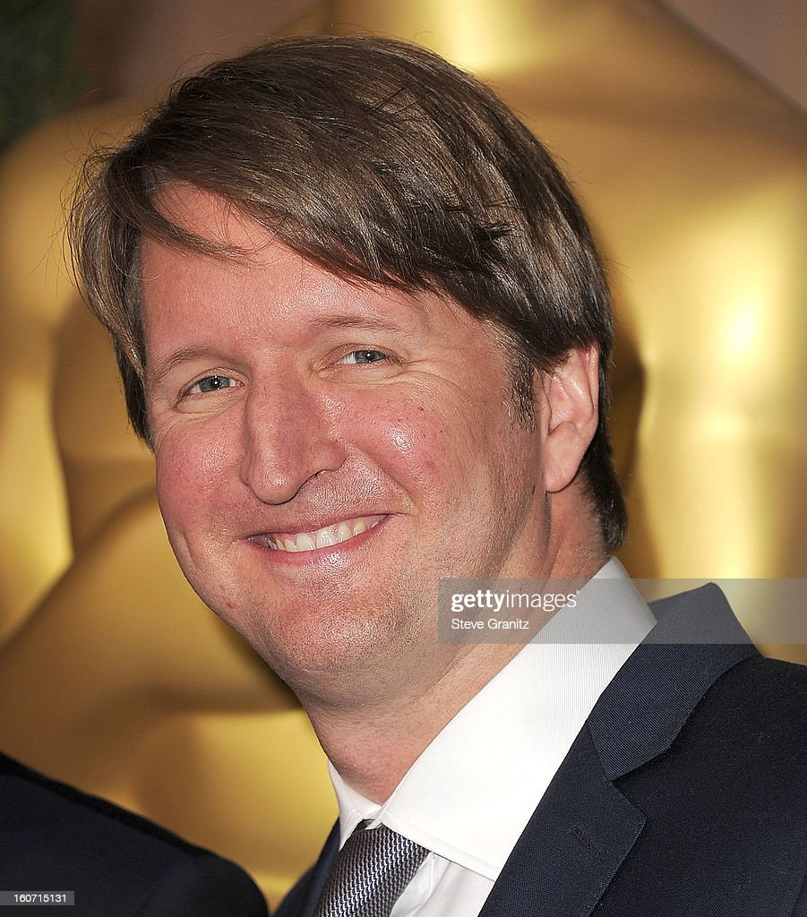 Tom Hooper arrives at the 85th Academy Awards - Nominees Luncheon at The Beverly Hilton Hotel on February 4, 2013 in Beverly Hills, California.