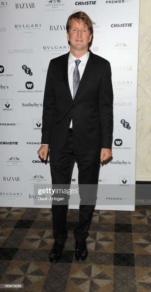<a gi-track='captionPersonalityLinkClicked' href=/galleries/search?phrase=Tom+Hooper&family=editorial&specificpeople=681836 ng-click='$event.stopPropagation()'>Tom Hooper</a> attends BFI Gala Dinner on October 8, 2013 in London, England.