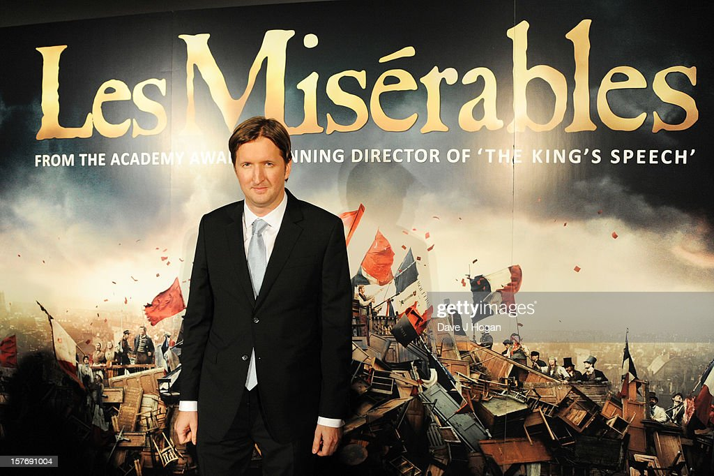 Tom Hooper attends the world premiere after party for Les Miserables at The Odeon Leicester Square on December 5, 2012 in London, England.