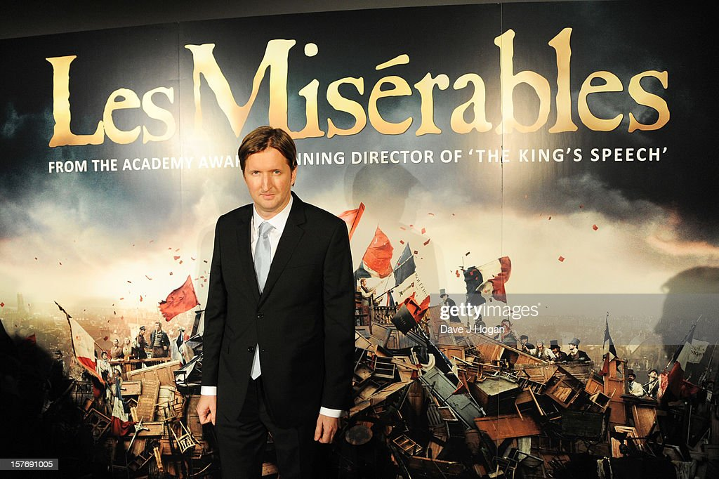 <a gi-track='captionPersonalityLinkClicked' href=/galleries/search?phrase=Tom+Hooper&family=editorial&specificpeople=681836 ng-click='$event.stopPropagation()'>Tom Hooper</a> attends the world premiere after party for Les Miserables at The Odeon Leicester Square on December 5, 2012 in London, England.