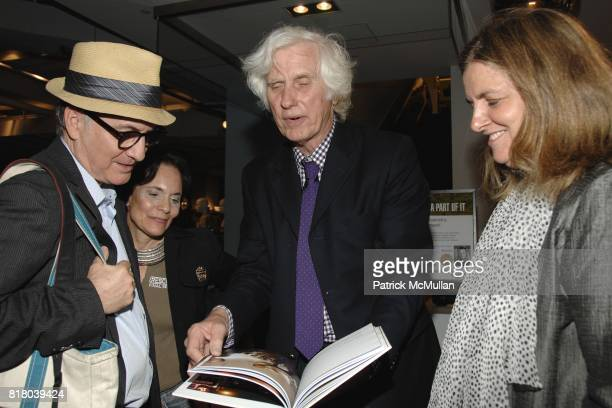 Tom Houghton Janet Foreman Douglas Kirkland and attend Woolrich John Rich Broís Photo Exhibition with Douglas Kirkland at Bloomingdales on September...