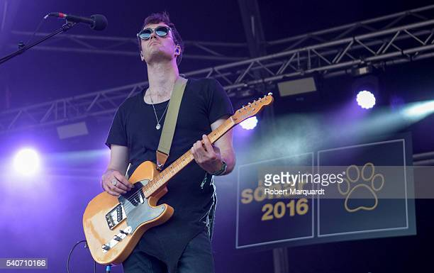 Tom Howie of Bob Moses performs on stage during Sonar Festival 2016 on June 16 2016 in Barcelona Spain
