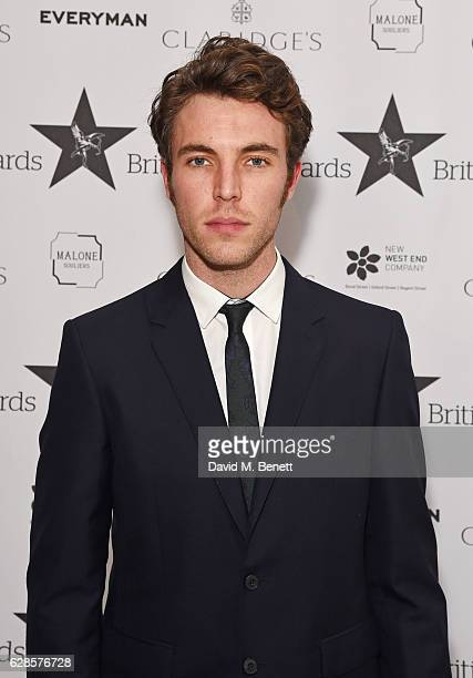 Tom Hughes arrives at The London Evening Standard British Film Awards at Claridge's Hotel on December 8 2016 in London England