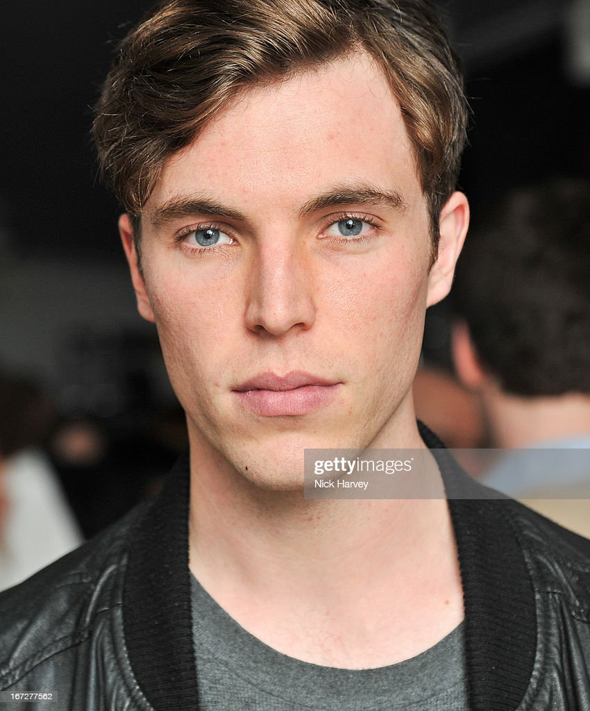 Tom Hughes attends Burberry Live at 121 Regent Street at Burberry on April 23, 2013 in London, England.