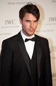 Tom Hughes attends the BFI London Film Festival IWC Gala Dinner in honour of the BFI at Battersea Evolution Marquee on October 7 2014 in London...