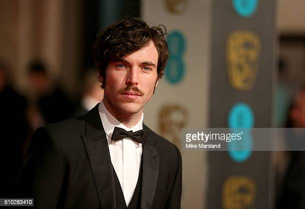 Tom Hughes attends the EE British Academy Film Awards at The Royal Opera House on February 14 2016 in London England