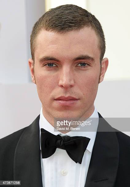 Tom Hughes attends the House of Fraser British Academy Television Awards at Theatre Royal Drury Lane on May 10 2015 in London England