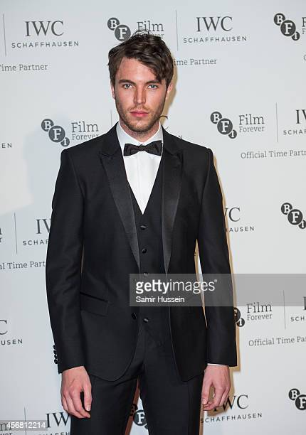 Tom Hughes attends the IWC Gala dinner in honour of the BFI at Battersea Evolution on October 7 2014 in London England