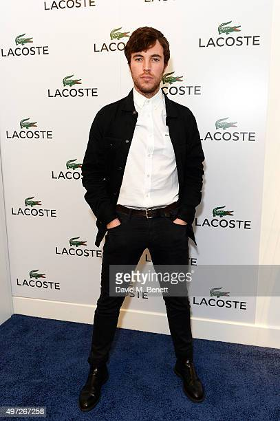 Tom Hughes attends the Lacoste VIP Lounge at the ATP World Finals 2015 at The O2 Arena on November 15 2015 in London England
