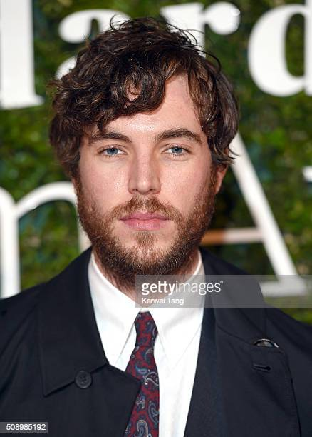 Tom Hughes attends the London Evening Standard British Film Awards at Television Centre on February 7 2016 in London England