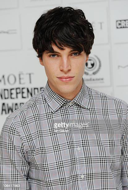 Tom Hughes attends the Moet British Independent Film Awards Nominations at the St Martins Lane Hotel on November 1 2010 in London England