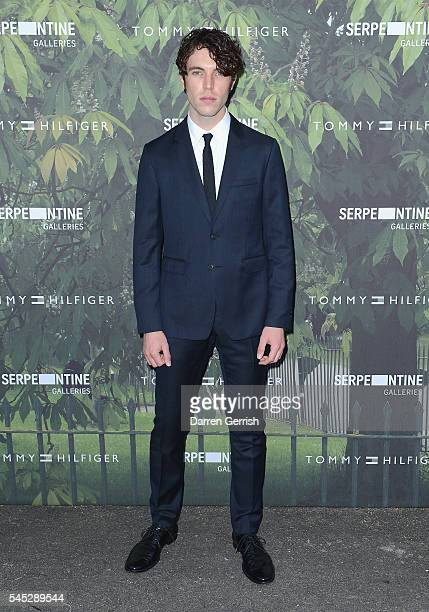 Tom Hughes attends the Serpentine Summer Party cohosted by Tommy Hilfiger at the Serpentine Gallery on July 6 2016 in London England