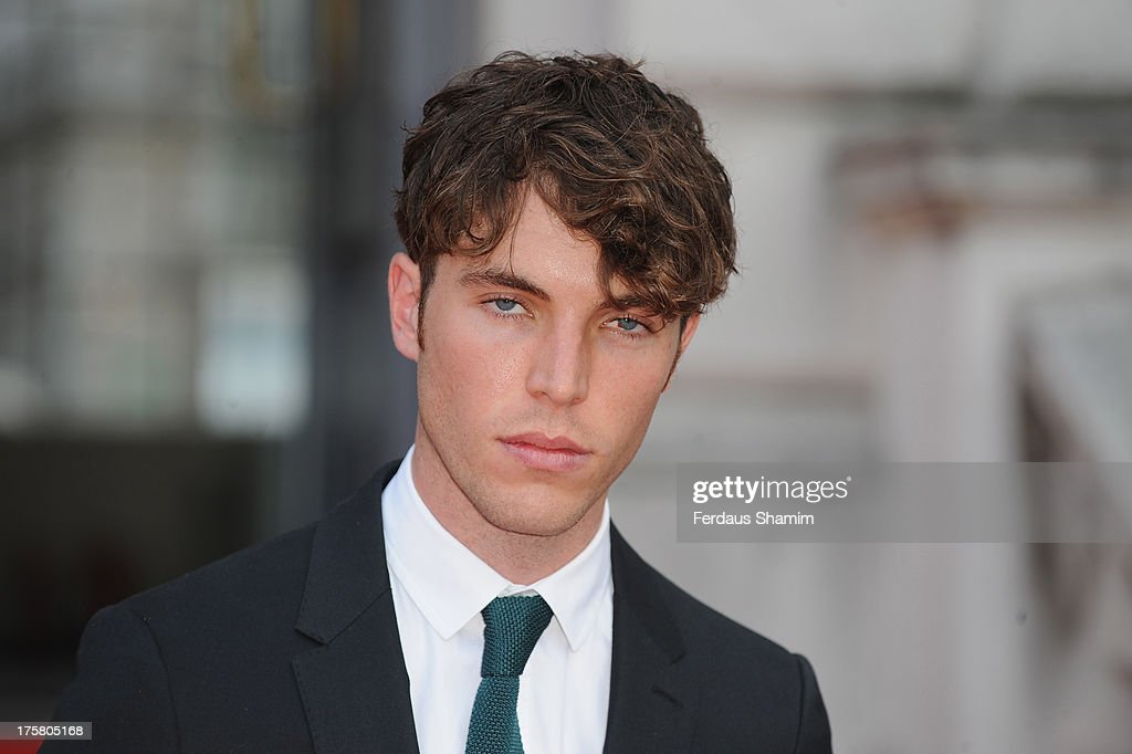 Tom Hughes attends the World Premiere of 'About Time' at Somerset House on August 8, 2013 in London, England.