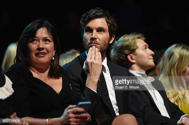 Tom Hughes during the National Television Awards at The O2 Arena on January 25 2017 in London England