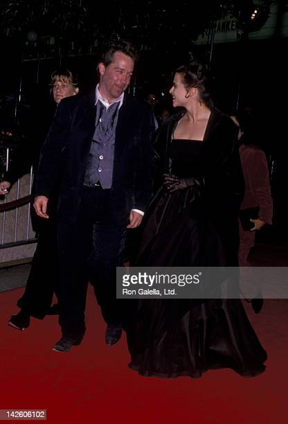 Tom Hulce and Helena Bonham Carter attend the world premiere of 'Mary Shelley's Frankenstein' on November 1 1994 at the Cineplex Odeon Cinema in...