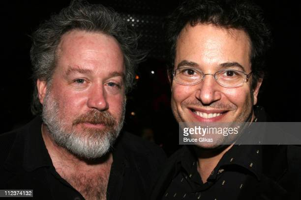 Tom Hulce and Michael Mayer during 'A Moon for the Misbegotten' Opening Night After Party at 230 5th Avenue Party Space in New York New York United...