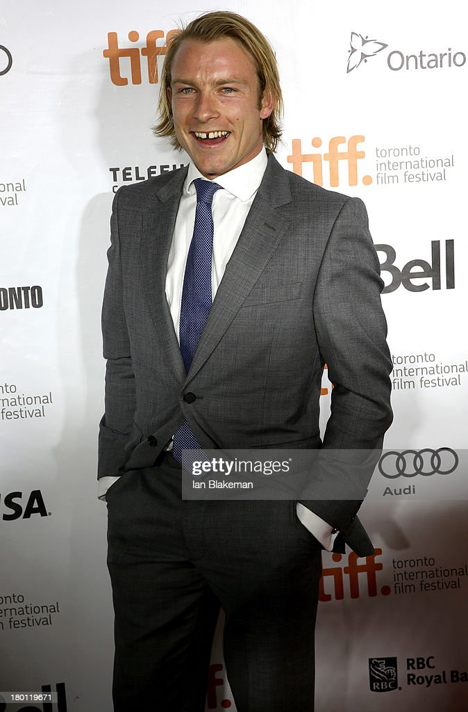 Tom Hunt attends the 'Rush' premiere during the 2013 Toronto International Film Festiva at Roy Thomson Hall on September 8, 2013 in Toronto, Canada.