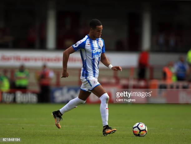 Tom Ince of Huddersfield Town during the pre season friendly between Barnsley and Huddersfield Town at Oakwell Stadium on July 22 2017 in Barnsley...