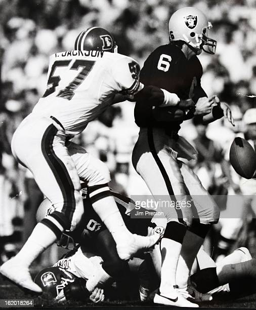 OCT 28 1984 Tom Jackson Denver Broncos