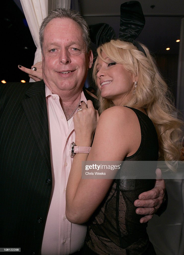 Tom Jenkins and Paris Hilton during Pure Nightclub Hosts Nicky Hilton's Birthday Party Inside at Pure Nightclub in Las Vegas California United States