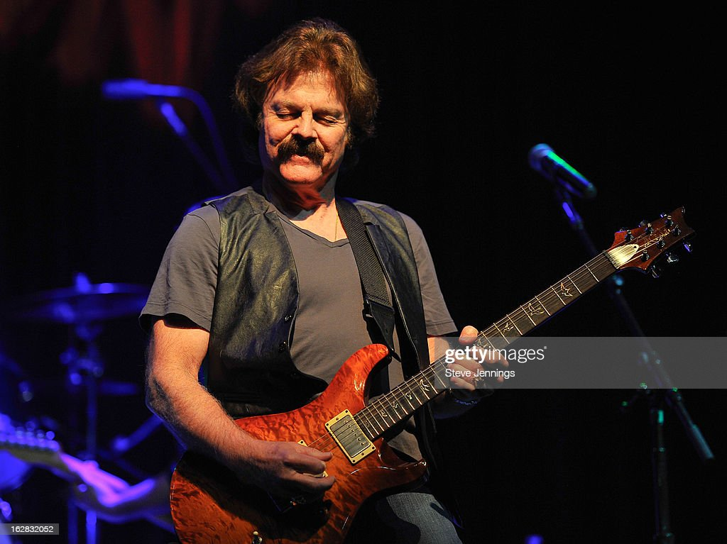 <a gi-track='captionPersonalityLinkClicked' href=/galleries/search?phrase=Tom+Johnston&family=editorial&specificpeople=6487183 ng-click='$event.stopPropagation()'>Tom Johnston</a> of The Doobie Brothers performs on stage as Jameson Best Fest launches Petty Fest at The Fillmore on February 27, 2013 in San Francisco, California.