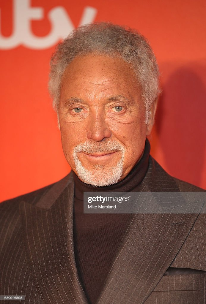 Tom Jones arrives for the press launch of The Voice UK at Millbank Tower on January 4, 2017 in London, England.