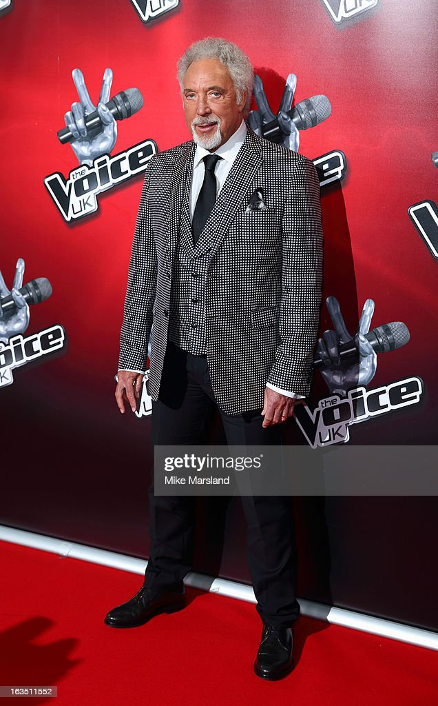 Tom Jones attends a photocall to launch the second series of The Voice at Soho Hotel on March 11, 2013 in London, England.