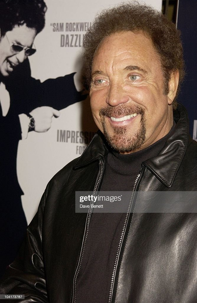 Tom Jones, Confessions Of A Dangerous Mind The Movie That Marks The Directorial Debut.premiered In London Last Night.and The Party Was At Elyceum At The Cafe Royal