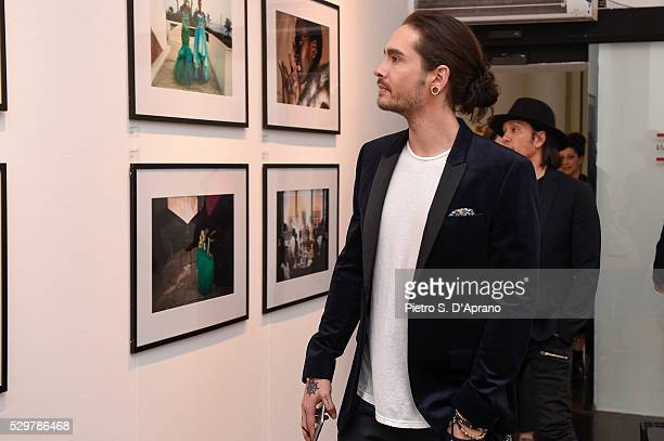 Tom Kaulitz at the photo art exhibition and book launch of BILLY at 10 Corso Como on May 9 2016 in Milan Italy