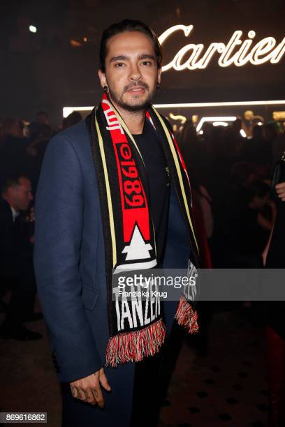Tom Kaulitz attends the When the Ordinary becomes Precious #CartierParty at Old Power Station on November 2 2017 in Berlin Germany