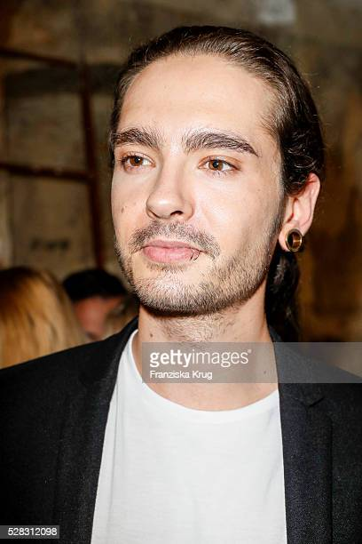 Tom Kaulitz guitarist of the band Tokio Hotel and brother of Bill Kaulitz during the photo art exhibition and book launch of BILLY at Seven Star...